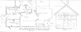 Plan showing addition & alterations at 1051 Prendergast [sic] St for G.H. Mabon