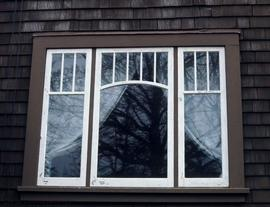Edgar Fleming family home at 1121 Munro Street, window