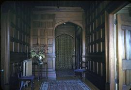 "James Angus family home at 1321 Rockland Avenue known as ""Ellesmere"", hallway"