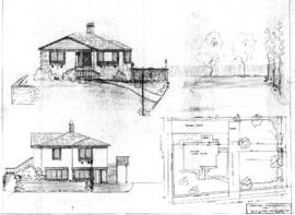 Proposed renovation for Dr. M. Fisher