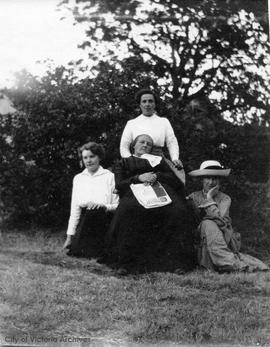 Mrs. Eliza Manton and daughters