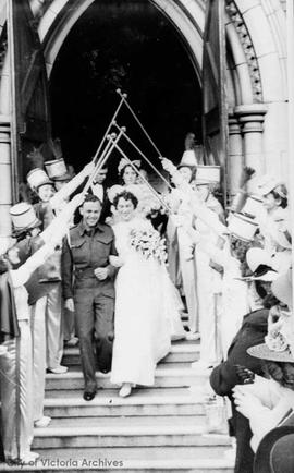 Wedding of Elsie and Bill Watson