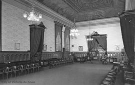 Independent Order of Odd Fellows (I.O.O.F.) Hall, 1323 Douglas Street, interior