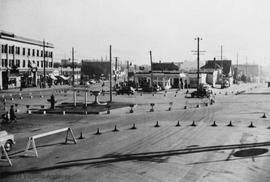Traffic Circle at the intersection of Gorge Road, Government Street, Hillside Avenue and Douglas ...