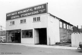633 David Street. Mortimer's Monumental Works