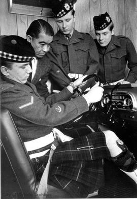 Canadian Scottish Regiment driving lessons