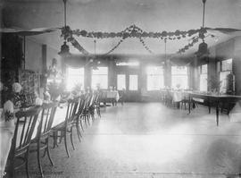Dining Hall at Rose Manor (also known as the Aged and Infirm Woman's Home) Located between C...