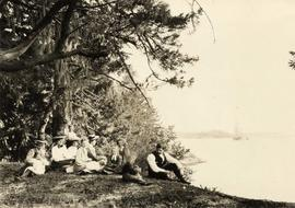 "Helmcken family at ""Seaview Farm"", View Royal"
