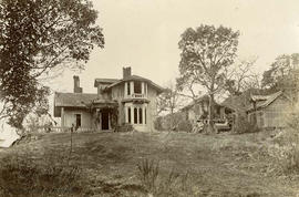 "Ruin of house ""Glenville"" owned by the Augustus Frederick Pemberton"