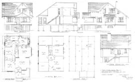 Plans of residence for Mr. Chan Sung, Victoria, B.C.