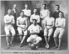 Basketball team No. 3 Company, 5th Regiment