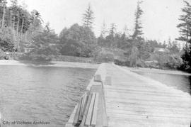 Dock on Saturna Island