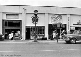 Store fronts : lower Fisgard Street
