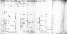 Proposed relocation from 1623 Hillside Ave. to Scott St., Lot 5, Blk. 3, Sec. 29, Plan 1944 : own...