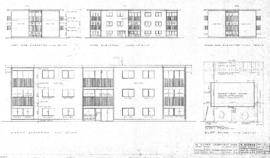 16 suites apartment bldg, Quebec Street, Victoria, B.C., for Congdon Construction Ltd.