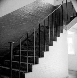 Work Point Barracks, Officer's and N.C.O. married quarters, staircase