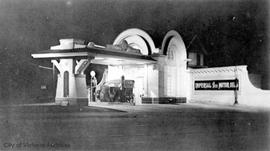 Imperial Oil Station at Gorge Road East and Government Street