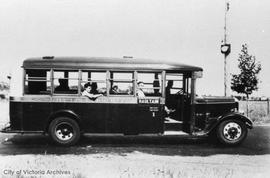 First British Columbia Electric bus on Haultain route