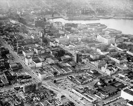 Aerial view of Victoria
