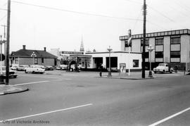 856 Broughton Street. Service station
