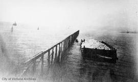 Construction of the Ogden Point Breakwater