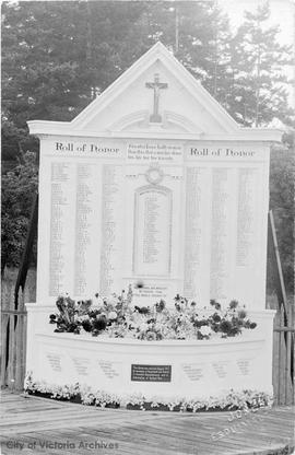 War Memorial at St. Paul's Church, Esquimalt