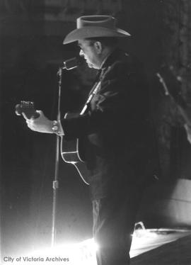 Tex Ritter at the Royal Theatre