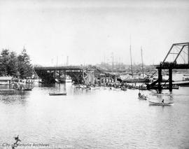 Point Ellice Bridge disaster May 26, 1896, aftermath