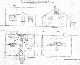 Residence for P. Smith, Beckeley Ave., Victoria, B.C., to be erected on N.E. Cor. of Kingston &am...