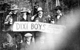 "Dixi Ross & Co. employees ""Dixi Boys"" at Sooke"