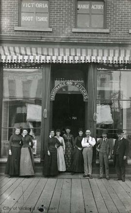 Campbell & Simpkins, Merchant Tailors, 88 Government Street