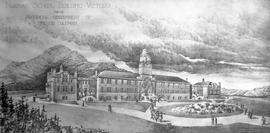 Sketch of the Provincial Normal School by W.C. Gillam