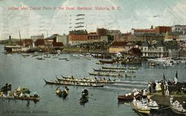 Canoe races, Inner Harbour