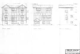 Proposed extension for 3 additional suites at 1029 Belmont Ave., Victoria, B.C., for Mr. T.G. Clarke