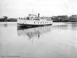 CPR Motor Princess, First car ferry in North America
