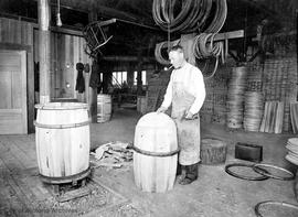 Michael Sweeney, founder of Sweeney's Cooperage