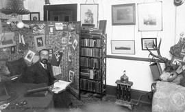 George Harvey in his study