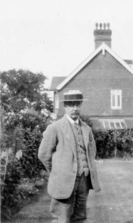 George R. Langford, the only son of Edward E. Langford (taken in England)