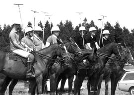 Polo game, Saanich