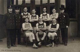 Victoria Fire Department basketball team