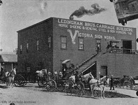 Ledingham Bros. Carriage Factory