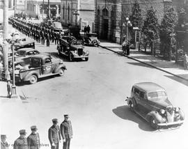 Funeral for Jack Puckey, Wednesday April 15, 1945
