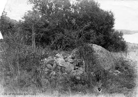 Burial Cairn at Gonzales rocks opened by the Natural History Society