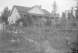 Payne house on Saturna Island
