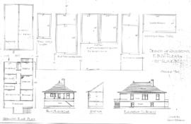 Design of residence for E.B. McClean, Mt. Tolmie, B.C.