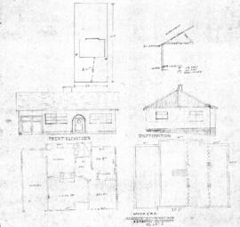 Proposed residence for F.S. Thomas, Metchosin St., Lot 8