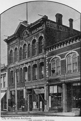 Colonist Building, Government Street