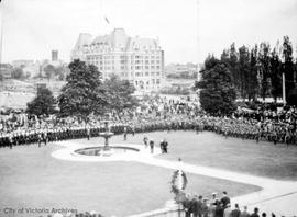 Coronation Day celebrations at Beacon Hill Park