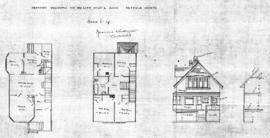 Proposed residence for Mrs. Lemm on Lot 6, Block [blank], Fairfield Estate