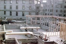 Rose Manor, 857 Rupert Terrace. Construction of new wing